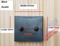 Wholesale 10pc mm x67mm mm x mm Plastic Holder of Wooden Wood Slats Holder Home Care Beds Holders for wooden slats for Nursing Beds