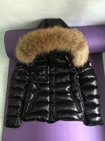 Wholesale Women s Black Fur Hoodie Puffer Down Ski Jacket Coat Size S XL