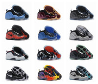 Wholesale New Colors Air Penny Hardaway Galaxy One Basketball Shoes Cheap Foams One Olympic Training Sports Shoes Size Eur