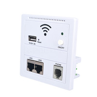 al por mayor extensor wifi lan-Amplificador de señal de enrutador WIFI 6 en 1 Prolongador de rango de Wi-fi de puente de cliente LAN Puente de señal de 150Mbps Refuerzo de 5V 2A USB Charger
