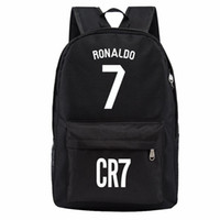 backpacks for women designer - Madrid Ronaldo backpack designer backpacks football bags sport waterproof bags kids school bags for teenage boys girls