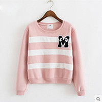 alphabet sweater - 2016 autumn long sleeved sweater women s routine printing plain letters Alphabet wind sweater
