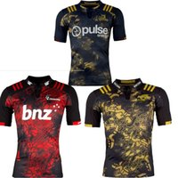 Wholesale S XL Maillot New Zealand Super Highlanders Hurricanes Jersey League Adults Mens Rugby Queensland Maroons Rugby Football Shirts