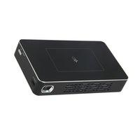 Quad lcd France-D09 RK3128 1G + 16G Projecteur LCD DLP DMD + RGB LED ARM Quad-core cinéma Home Theater WIFI BT4.0