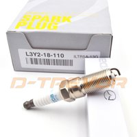 Wholesale Brand new ILTR5A G L3Y2 iridium Spark Plugs For Mazda M3 M5 M6 FORD MONDEO L3Y218110