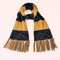 Wholesale fantastic beasts and where to find them harry potter scarf Newt Scamander cosplay tassels scarf School Unisex children