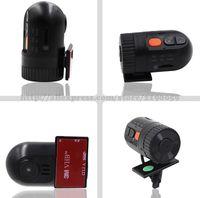 Wholesale car dvd Hot sale Novatek P D168 HD Smallest Car Camera high definition wide angle lens V Car DVR Cam recorder Dashcam