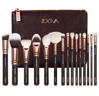 Wholesale NEW ZOEVA Makeup Brush kit ROSE GOLDEN Professional Luxury Set Face and Eyeshadow Make Up Tools Kit ZOEVA Powder Blending brushes