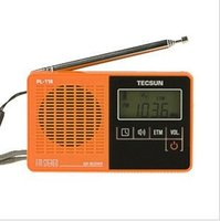 Wholesale Hot TECSUN PL PL118 DSP FM Stereo Single Band Radio Pocket Radio gifts