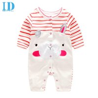 animal jumpsuit costume - IDGIRL Baby Rompers New Baby Girl Costume Newborn One Piece Jumpsuit Clothes Baby Boy Cartoon Spring Autumn Romper TH104