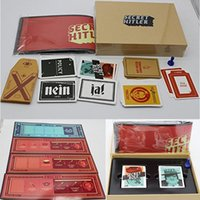 Wholesale Brain Games Newest Party Game Secret Hitler Games previously elected president chancellor Card Kickstarter Edition B1620
