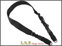 Wholesale NEW L Q E One Two Point Slings LQE Hunting combat tactical gear airsoft BD8490 BLACK