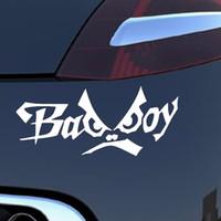 bad boys cars - 15 CM English Alphabet Bad Boy Creative Personality Funny Eyes Car Styling Fashion Vinyl Car Stickers Decals