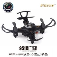Wholesale FQ777 C C Mini Pocket Drone CH Axis Gyro Quadcopter with MP Camera Switchable Controller Plane RC Helicopter Hot
