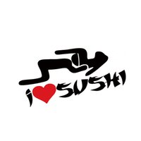 asian door - Cool Graphics I Heart Sushi Love Srticker Funny Car Styling Asian Rice Head Sex Jdm Car Window Vinyl Decal Jdm