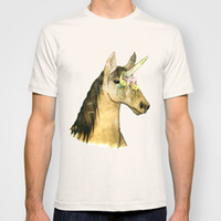 ICE CREAM UNICORN New Fashion Man T-Shirt Coton O Neck Homme à manches courtes Hommes T-shirts Homme Tops Tees Vente en gros