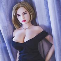 2017 MÁS NUEVOS 165cm Nikita sexo muñeca Tan cuerpo de la entidad del silicón boca de la vagina Sexo anal realista Sexo real sólido amor del juguete Compras Tienda