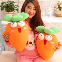 baby expressions doll - cm Fantasy Series Vivid Expression d yellow red Carrot Fantasy Stuffed Pillow Doll plush dolls baby toys