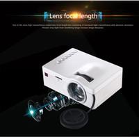 Wholesale NEW UC18 Projetor Portable Mini Projektor proyector HD P LED Projectors For School Proiettore Video Laser beamer Projector