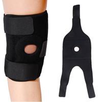 adjustable basketball set - Elastic Knee Support Brace Kneepad Adjustable Patella Knee Pads Safety Guard Strap For Basketball set