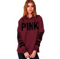 clothes dropship - Pink Letter Bts Hoodie Women Casual Hip Hop Hoody Tops Pullover Streetwear Harajuku Tracksuit Brand Clothing Sweatshirt Dropship