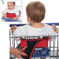 Wholesale Baby Shopping Carts Wraps Covers Supermarkets Trolleys Kids Safety Wrap Belts Children Strollers Chair Seats Cotton Straps