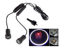 Wholesale Spiderman W LED Car Door Laser Projector Ghost Shadow Step Light Logo
