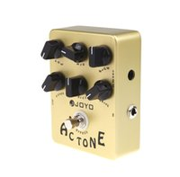 Wholesale Electronic New JOYO JF AC Tone Vox Amp Simulator Guitar Effect Pedal Guitarra Parts True Bypass for Musical Instrument