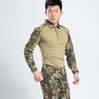 Wholesale Top Quality Outdoor Sport Expand Clothes For Men Special Forces Camouflage Cothes Suit Outdoor Combat Clothes Army Equipment Frogman clothes