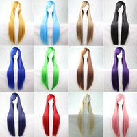 Wholesale 2016 fashion NUniversal wig color one meter straight anime cosplay wig south birds