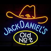 Wholesale Fashion Handcraft Jack Daniels Old Real Glass Beer Bar Display neon sign x15 Best Offer