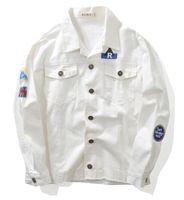 Wholesale Original popular logo badge Oxford shirt jacket Young male version more pockets long sleeves suprem coat