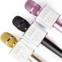 Wholesale Karaoke Microphone Q9 Wireless Microphone Bluetooth Mini Player Q9 Microphone
