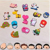Wholesale 22 Style Fridge Magnets Stickers Cute Animal Sticker for Decoration Fridge and Furniture Cute Animal Sticker Home Decoration
