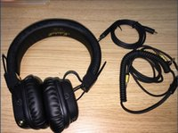 Wholesale Marshall Major II Bluetooth Wireless Headphones in Black DJ Studio Headphones Deep Bass Noise Isolating headset for ip hone Sa msung