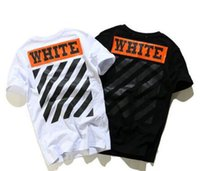 Wholesale OFF WHITE T Shirt Men YEEZUS Off White Kanye West Camouflage Striped Hip Hop Cotton T Shirt OFF WHITE T Shirt