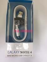 Wholesale For Samsung Note USB Cable transfer Data Unveisal Micro Wire