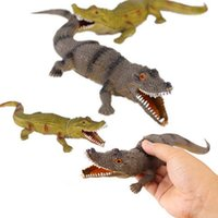 animal cognition - New Strange Vocal Crocodile Simulation Model Toys Animal Cognition Sound Parent child Interactionn Baby Kids Fun Game Gifts