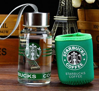 Wholesale 2017 new starbucks ml famous coffee brand logo my bottle water cup for lover friend christmas super quality