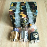 assorted electronics - Baal V4 RDA Clone Resin Drip Tip Electronic Cigarettes E Cig Atomizers Assorted Colors Newest RDA
