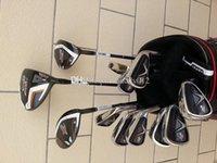 Wholesale Full Set x2 hot driver x2 hot fairway woods x2 hot Golf irons PAS Versa putter Golf clubs Come headcover