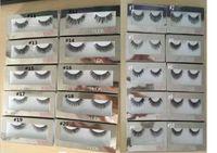 Wholesale IN STOCK New HUDA BEAUTY False Eyelashes Natural Long Messy Cross Thick False Eye Lashes Huda Beauty Makeup DHL Free
