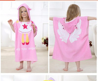 bathrobes for children - IDGIRL New Cartoon Animal Baby Hooded Bathrobe Infant Bath Towel Bathing Robe For Children Kids Baby Bathrobe Pajamas JY0246