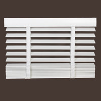 Wholesale Pure real wood shutter shade toilet waterproof bedroom window basswood Venetian blinds cm wide and cm long