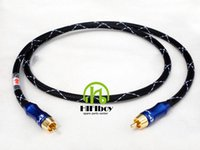 belden coaxial - HIFI cable audio line ohm Digital Coaxial Cable DAC Signal Cable Belden Cold Press Self locking Budweiser RCA