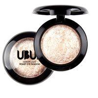 baking chocolate powder - Women Beauty Single Baked Eye Shadow Powder Palette Eyeshadow Palette