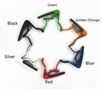 Wholesale Guitar Capo Acoustic and Electric GuitarsSingle handed Guitar Capo Quick Change for Electric or Acoustic String Guitar