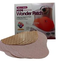 Wholesale Wonder patch pack MYMI Wonder slim patch slimming belly Patches Gel Belly patch Loss Weight Products Waist Slim Patches DDA2910