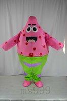 Wholesale Spongebob Squarepants Mascot Costumes - SpongeBob SquarePants SpongeBob SquarePants Costume Halloween carnival costumes SpongeBob SquarePants Patrick Mascot Costume Fancy Free Ship