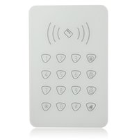Wholesale Touchable RFID keypad for Smart home WIFI GSM alarm external Remotecontrol password keypad for G90B G90E Smart Home alarm syst